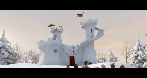 bande-annonce La bataille géante de boules de neige